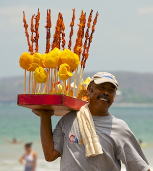 Mangos on sticks