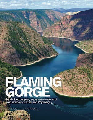 Trailer Life Flaming Gorge Aug 2013
