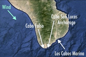 Cabo Falso Cabo San Lucas Map