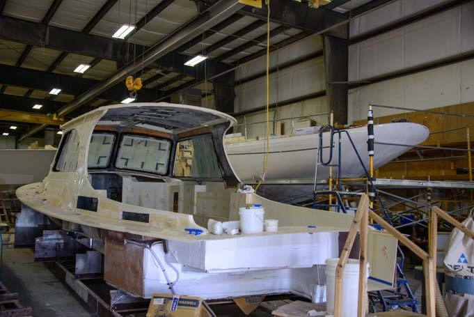 Hinckley Yachts boat builders Southwest Harbor Maine