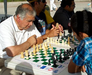 Chess tournament in Ensenada