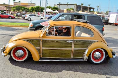 VW bug woody