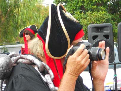 The Grand Poobah, Richard Spindler, was busy taking pics