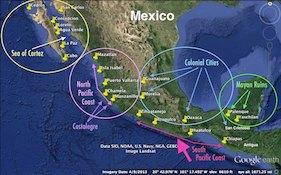 Mexico Regions