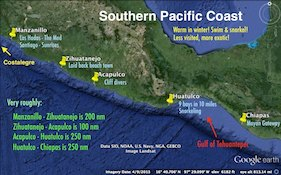 Mexico's Southern Pacific Coast