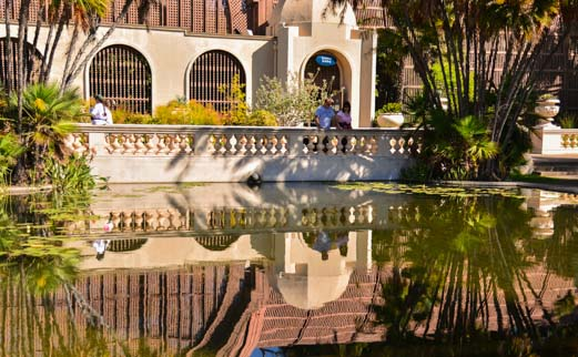 Balboa Park Pond Reflections