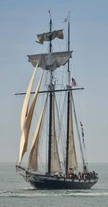Tall ships in San Diegp