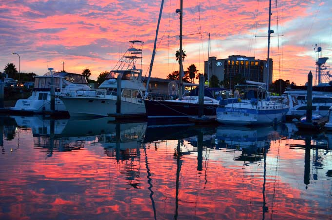 Sunset on Harbor Island
