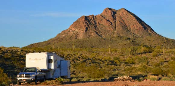 Buggy boondocking in Arizona