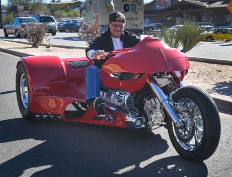 Cool trike on the road in Phoenix