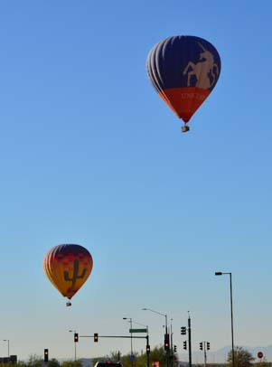 Balloons in Phoenix