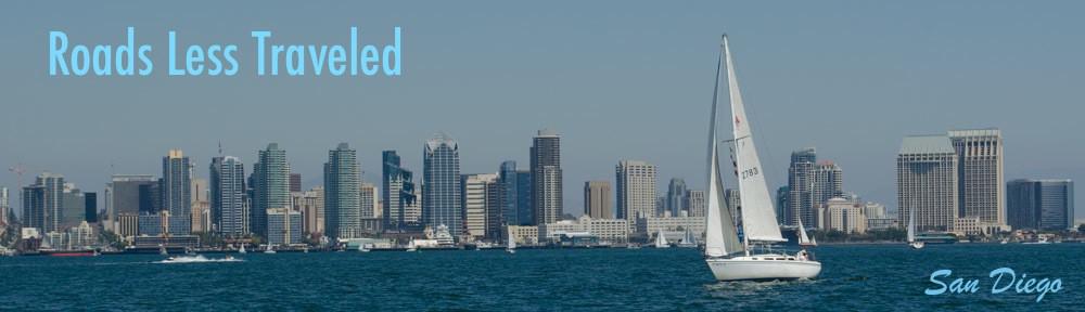 San Diego Skyline with boats