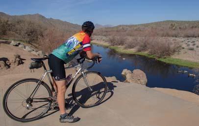 Salt River Arizona bike trail