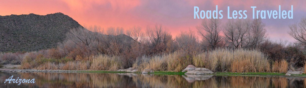 Salt River Phoenix Arizona RV travel camping and boondocking