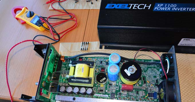 Exeltech XP100 Power Inverter FB 681 how big an inverter do you need to boondock in an rv?  at edmiracle.co