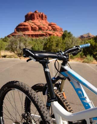 Mountain bikes at Bell Rock Oak Creek AZ