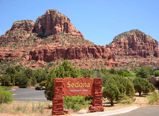 Sedona Arizona sign