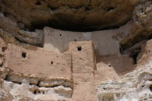 Montezuma's Castle near Flagstaff Arizona