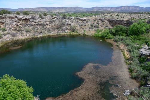 Montezuma's Well near Flagstaff Arizona