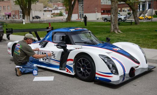 2013 Radical RXC race car