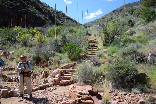 Tonto National Monument Upper Cliff Dwelling hike