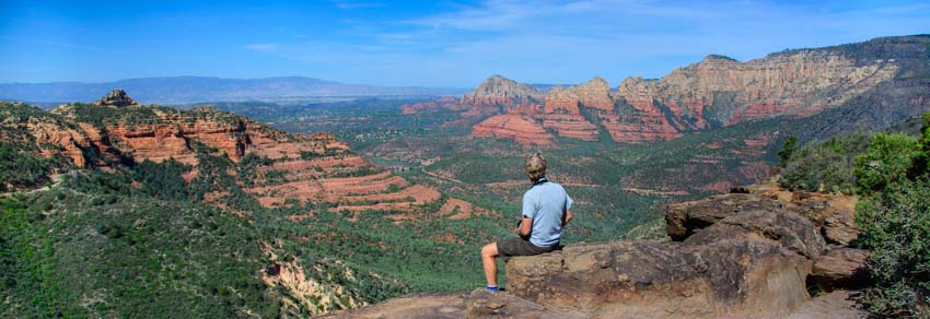 Schnebly Hill Vista Viewpoint Sedona Arizona