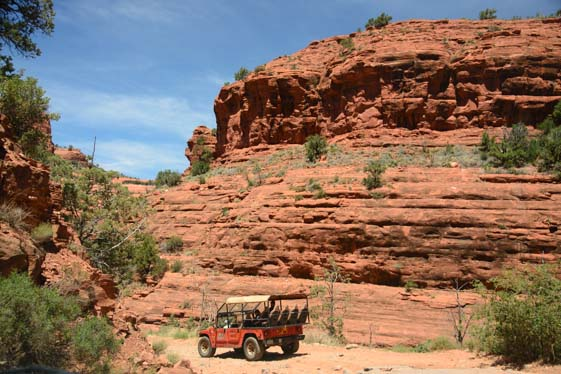 Jeep Tour on Schnebly Hill Road Sedona Arizona