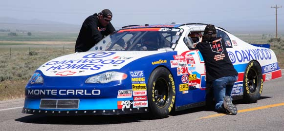 2001 Monte Carlo gets ready to race