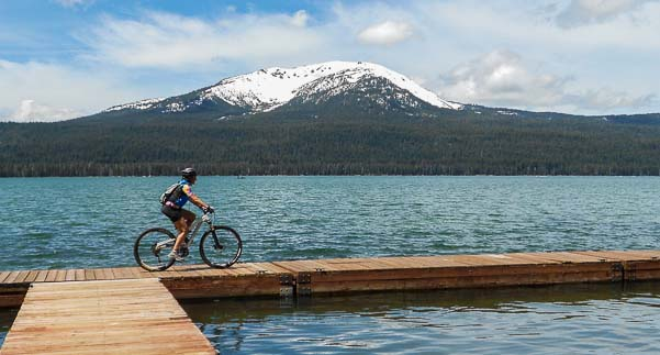 Diamond Lake Mountain biking