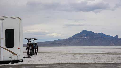 Bonneville Salt Flats Utah