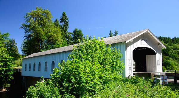 Good Pasture Covered Bridge Oregon