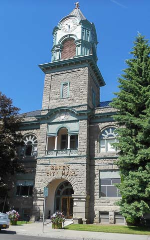 City Hall in Baker City Oregen