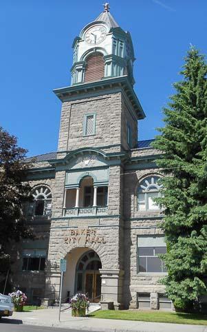 City Hall in Baker City Oregen