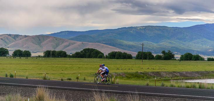 Rolling counryside for road cycling in northeastern Oregon