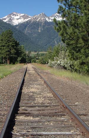 Rails in Joseph Oregon