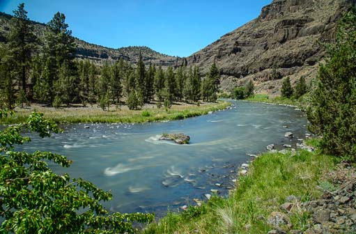 Lower Crooked River Recreation Area Prineville Oregon