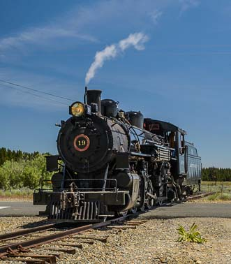 Sumpter Railroad Oregon