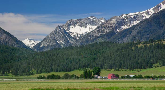 Wallowa Mountains in Joseph Oregon