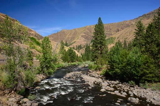 Snake River Hell's Canyon Oregon