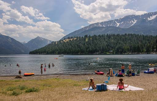 Wallowa Lake in Joseph Oregon 511
