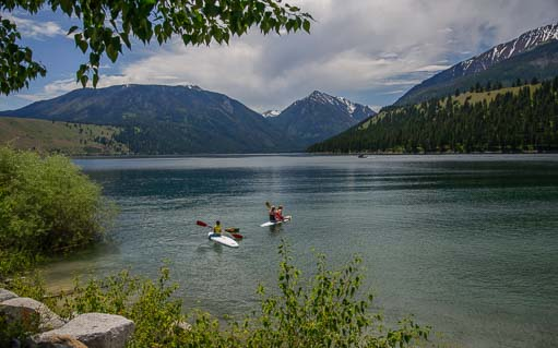 Wallowa Lake in Joseph Oregon