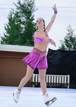 Clara Daly at ProSkaters in Sun Valley
