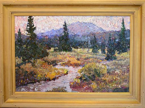 Robert Moore Murdoch Creek Oil Painting