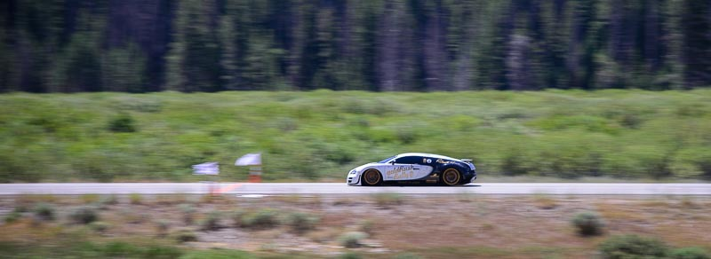 Bugatti sets record at Sun Valley Road Rally
