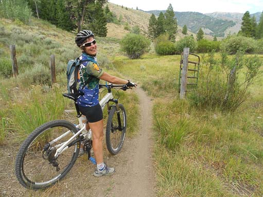 Mountain biking in Sun Valley Idaho