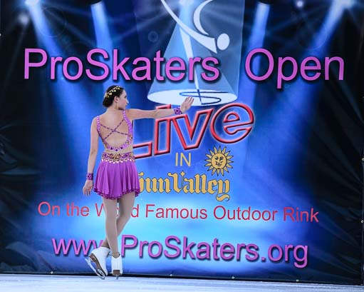 ProSkaters Open Skating Competition Sun Valley Idaho