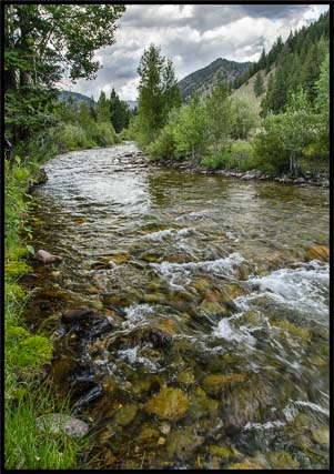 Big Wood River Sun Valley Idaho