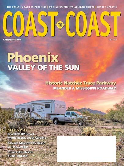 Phoenix Arizona Cover Story Coast to Coast Magazine Fall 2014