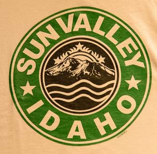 Starbucks insignia for Sun Valley Idaho