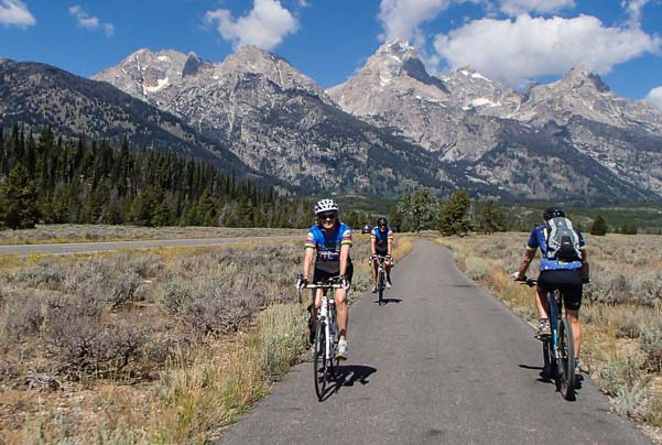 Grand Teton's new paved bike path